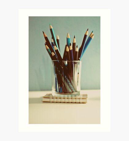 care to write? Art Print