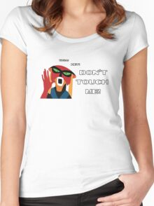 Don't Touch Me! Women's Fitted Scoop T-Shirt