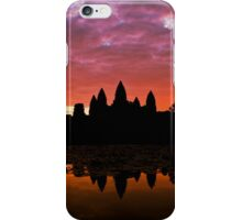Sunrise Over Angkor Wat iPhone Case/Skin