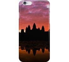 Sunrise Over Angkor Wat iPhone Case/Skin