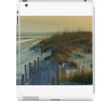 Sand Dunes of Tybee Island iPad Case/Skin