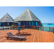Postcard from the Maldives Photographic Print
