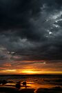 Blanket Bay Sunrise IV by Richard Heath