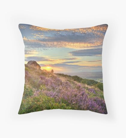 Surprise View Sunset Throw Pillow