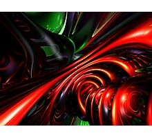 Angry Clown Abstract Photographic Print