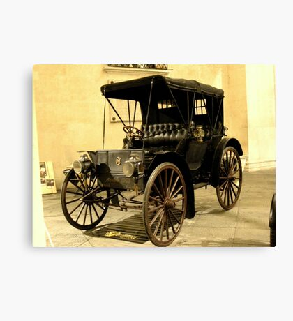 Old cars 2 Canvas Print