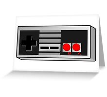 Vintage Game Controller Style Greeting Card