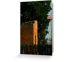 Jamestown National Historic Site ~ Part One Greeting Card