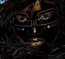Voodoo Woman Sticker