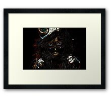 Voodoo Woman Framed Print