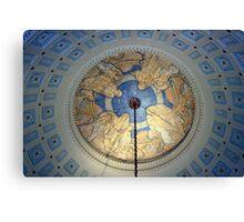 The Capital Dome Interior Canvas Print