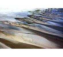Moving Sand Photographic Print