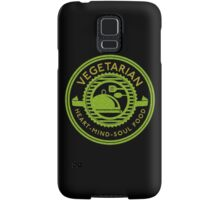 Vegetarian Heart Mind and Soul Food  Samsung Galaxy Case/Skin