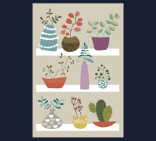Shelves with plants and succulents Kids Clothes