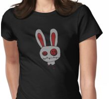 Not so cute anymore...(Super dooper mega evil version) Womens Fitted T-Shirt
