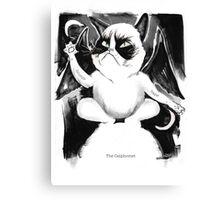 The Catphomet Canvas Print