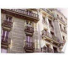 Parisian Architecture Poster