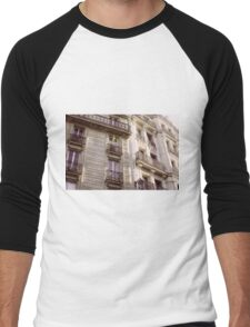 Parisian Architecture Men's Baseball ¾ T-Shirt