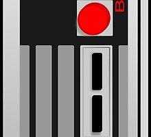 Vintage Retro Game Controller by jgartshop