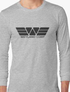 Weyland Corp logo - Alien - Grey Long Sleeve T-Shirt