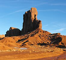 In Monument Valley by Susan Russell