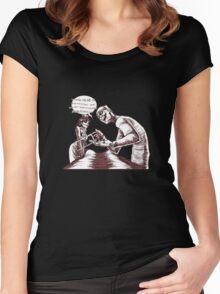 Defective Head Women's Fitted Scoop T-Shirt