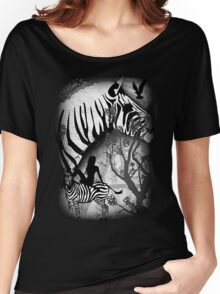 In My Black and White Dream Women's Relaxed Fit T-Shirt