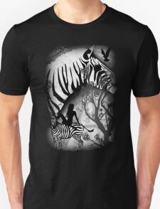 In My Black and White Dream Unisex T-Shirt