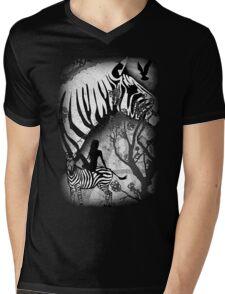 In My Black and White Dream Mens V-Neck T-Shirt