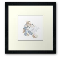 Korra watercolour Framed Print