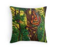Queen of the Daffodils Throw Pillow