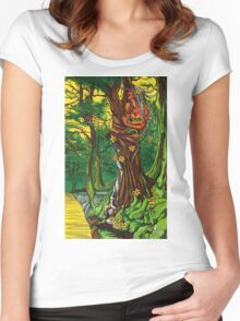 Queen of the Daffodils Women's Fitted Scoop T-Shirt
