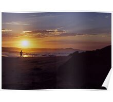 Sunset ozzy style Poster