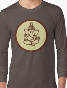 Hindu, Hinduism, Ganesh T-Shirt Long Sleeve T-Shirt