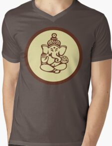 Hindu, Hinduism, Ganesh T-Shirt Mens V-Neck T-Shirt