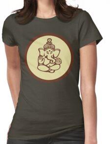 Hindu, Hinduism, Ganesh T-Shirt Womens Fitted T-Shirt