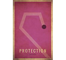 Protection Paladin - WoW Minimalism Photographic Print