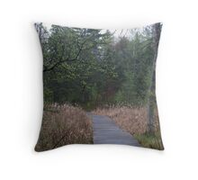 Northern woods Throw Pillow