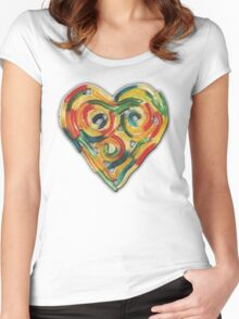 GUMMY WORM LOVE Women's Fitted Scoop T-Shirt