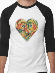 GUMMY WORM LOVE Men's Baseball ¾ T-Shirt