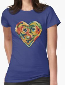 GUMMY WORM LOVE Womens Fitted T-Shirt