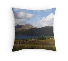 Little Loch Broom Throw Pillow