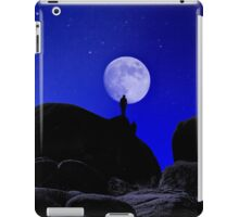 Moonrise Over White Tank Campground. iPad Case/Skin