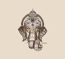 Ganesha - Lucky God - Hindu God of Wisdom by maarta