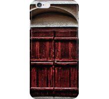 Medieval House Door Fine Art Print iPhone Case/Skin