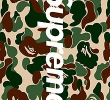 Supreme x Bape Box Logo by supremeandstuff