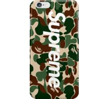 Supreme x Bape Box Logo iPhone Case/Skin