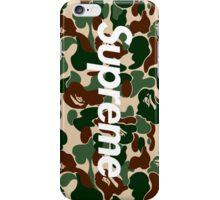 Supreme x Bape Box Logo iPhone Case/Skin