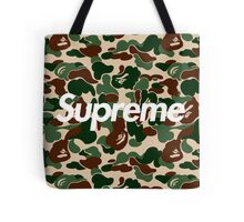 Supreme x Bape Box Logo Tote Bag