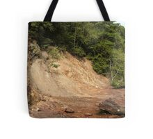 Pyrites Cliffs Tote Bag